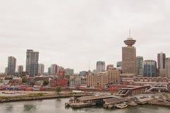 Vancouver city skyline Stock Photography