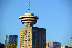 Vancouver City Skyline, BC, Canada Royalty Free Stock Image