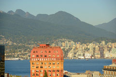 Vancouver City Skyline, BC, Canada Stock Photo