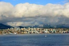 Vancouver City Skyline, BC, Canada Stock Photos
