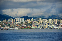 Vancouver City Skyline, BC, Canada Royalty Free Stock Photo