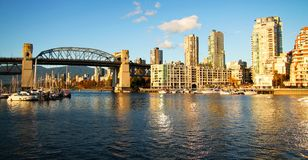 Vancouver city Royalty Free Stock Photos