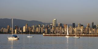Vancouver city skyline Royalty Free Stock Photo