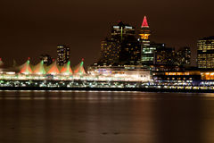 Vancouver City from Stanley Park Royalty Free Stock Image