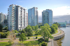Vancouver City View Living Royalty Free Stock Photography