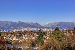 Vancouver city view in winter Stock Photography