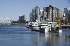 Vancouver city waterfront royalty free stock photo