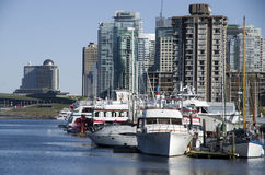 Vancouver city waterfront Stock Photos