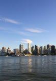 Vancouver cityscape. In Canada BC stock photo