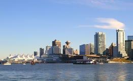 Vancouver cityscape. In Canada BC stock photos