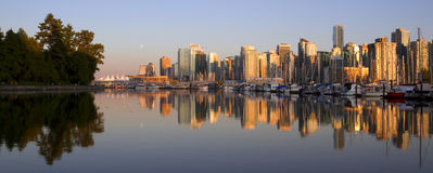 Vancouver  cityscape Stock Images