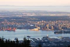Vancouver cityscape stock photo