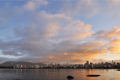 Vancouver cityscape in the morning Stock Photography