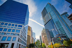 Vancouver Cityscape / Office Buildings Stock Images
