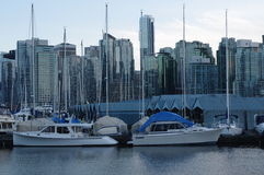 Vancouver coal harbour royalty free stock image