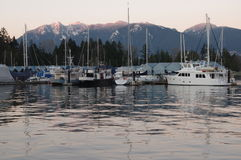 Vancouver coal harbour Stock Images