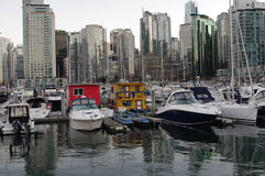 Vancouver coal harbour stock photos