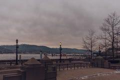 Vancouver, Columbia Británica/Canadá - 24 de diciembre de 2017: Harb del carbón Imagenes de archivo