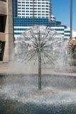 VANCOUVER, COLUMBIA/CANADA BRITÁNICO - 14 DE AGOSTO: Agua de la fuente foto de archivo
