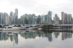 Vancouver condominiums Royalty Free Stock Images