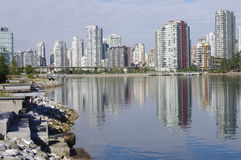 Vancouver condominiums Stock Images