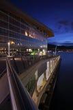 Vancouver convention center zmierzch zdjęcia stock