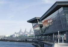 Vancouver Convention Centre Stock Photos