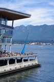 Vancouver Convention Centre Stock Photos