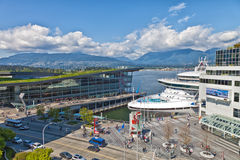 Vancouver Cruise Port Stock Photos