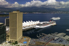 Vancouver Cruise Ship Terminal - Canada royalty free stock images
