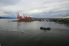 Vancouver d'adieu Photos libres de droits