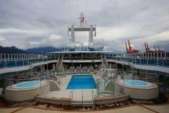 Vancouver d'adieu Images stock