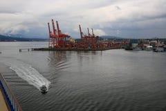 Vancouver d'adieu Photographie stock libre de droits