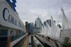 Vancouver d'adieu Images libres de droits