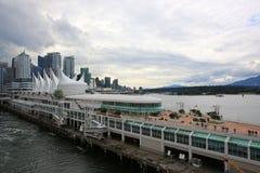 Vancouver d'adieu Image stock