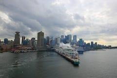 Vancouver d'adieu Photos stock