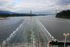 Vancouver d'adieu Photo libre de droits