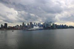 Vancouver d'adieu Image libre de droits