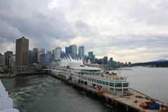 Vancouver d'adieu Photographie stock