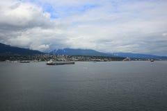 Vancouver d'adieu Photo stock