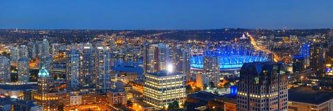 Vancouver dachu widok Obrazy Stock