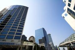 Vancouver de stad in Royalty-vrije Stock Afbeeldingen