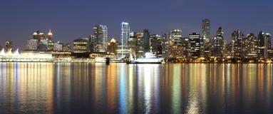 Vancouver de stad in Stock Afbeeldingen