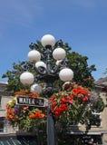 Vancouver, decorazione floreale Fotografia Stock Libera da Diritti