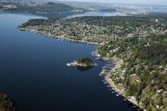 Vancouver - Deep Cove and Salmon Arm Stock Photo