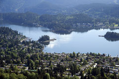 Vancouver - Deep Cove and Salmon Arm Royalty Free Stock Photo