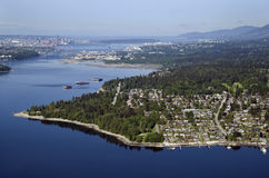 Vancouver - Deep Cove and Salmon Arm Royalty Free Stock Image