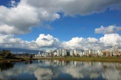 Vancouver del centro Immagini Stock Libere da Diritti