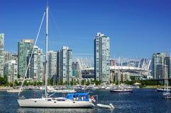 Vancouver del centro Fotografie Stock Libere da Diritti
