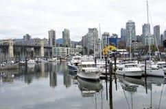 Vancouver del centro Fotografia Stock